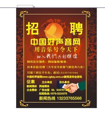 中国好声音网招聘